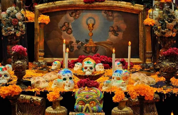 altar dos niveles